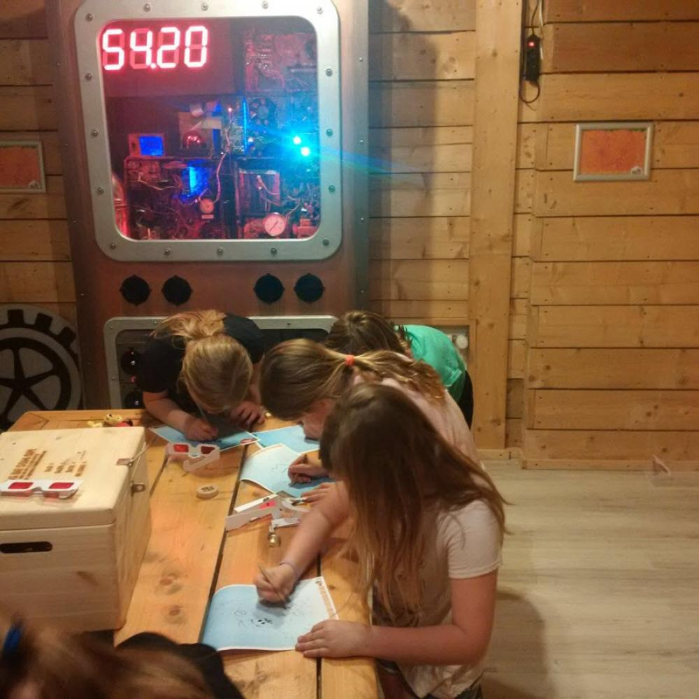 First Escape Room For Kids At Kids Zoo Ballenenzo