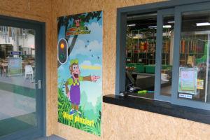 Monkey Town Rijswijk Deuropnener