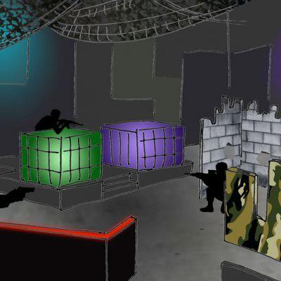 Ballenenzo Laser Game Area 05